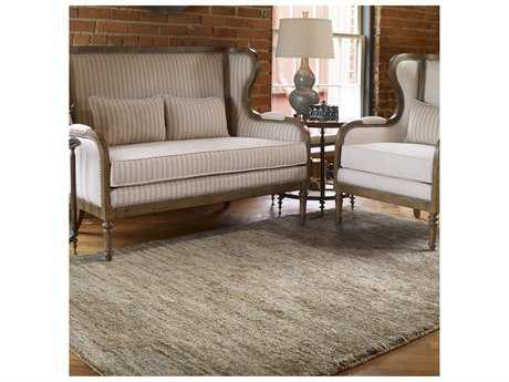 Uttermost Mounia Rectangular Rust Blue Area Rug