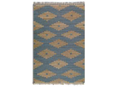 Uttermost Asmae Rectangular Blue Area Rug