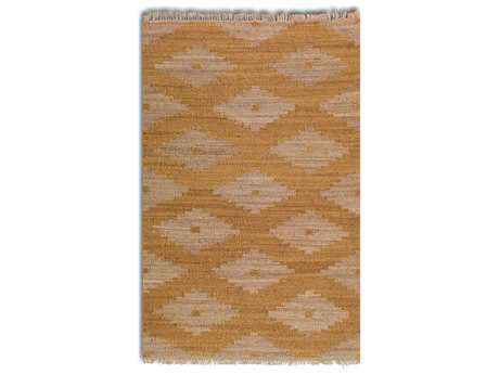 Uttermost Asmae Rectangular Orange Area Rug