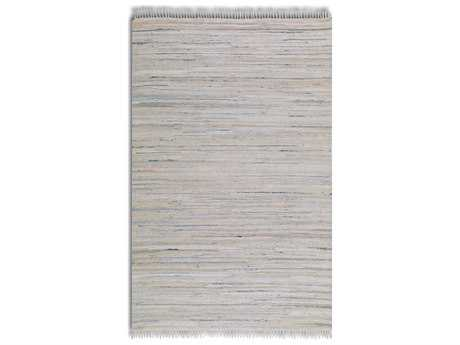 Uttermost Stockton Rectangular White Area Rug