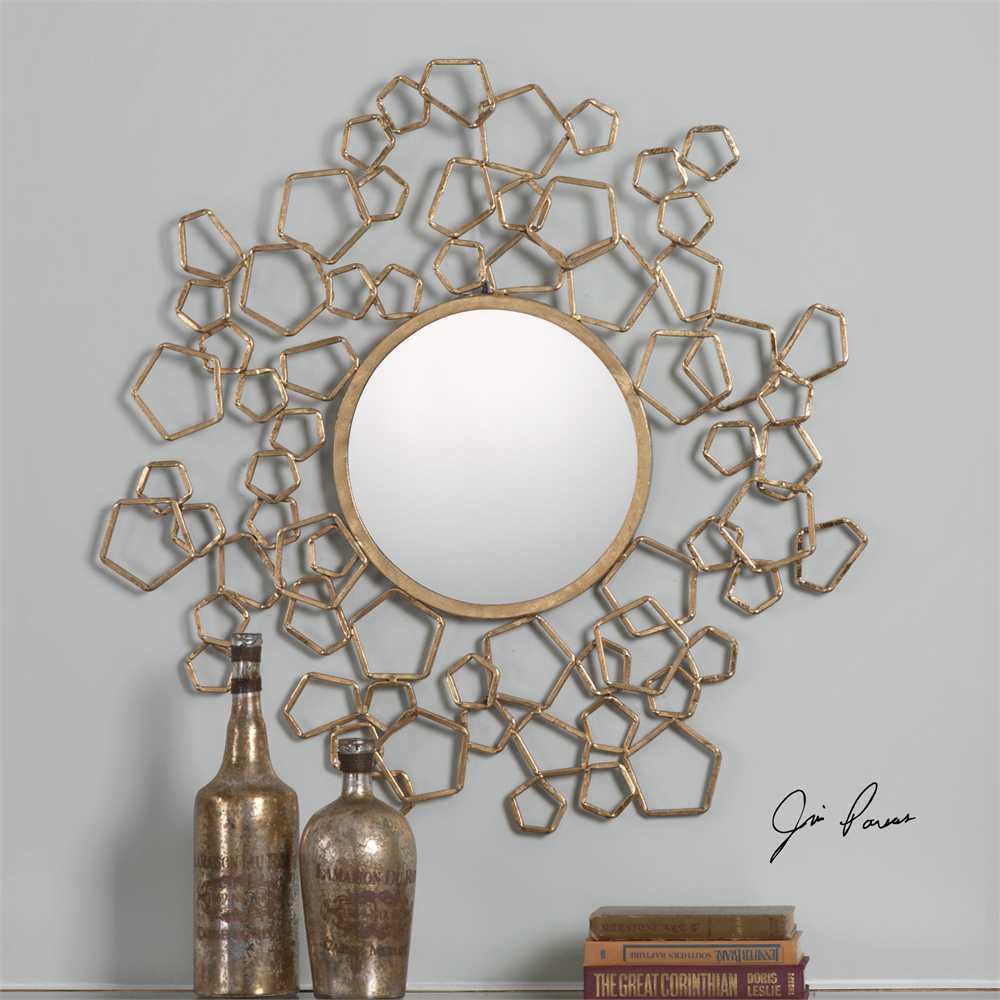 Uttermost Finnian Jim Parsons Modern Gold Mirror Ut9054