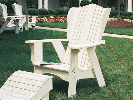 Uwharrie Chair Plantation Series Wood Adirondack Chair
