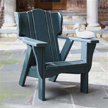 Uwharrie Chair Plantation Series Wood Child Size Adirondack Chair