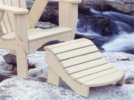 Uwharrie Chair Fanback Wood Ottoman