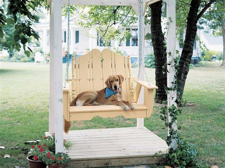 Uwharrie Chair Companion Series Wood Arm Rocker Swing