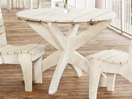 Uwharrie Chair Wood 42 Round Dining Table