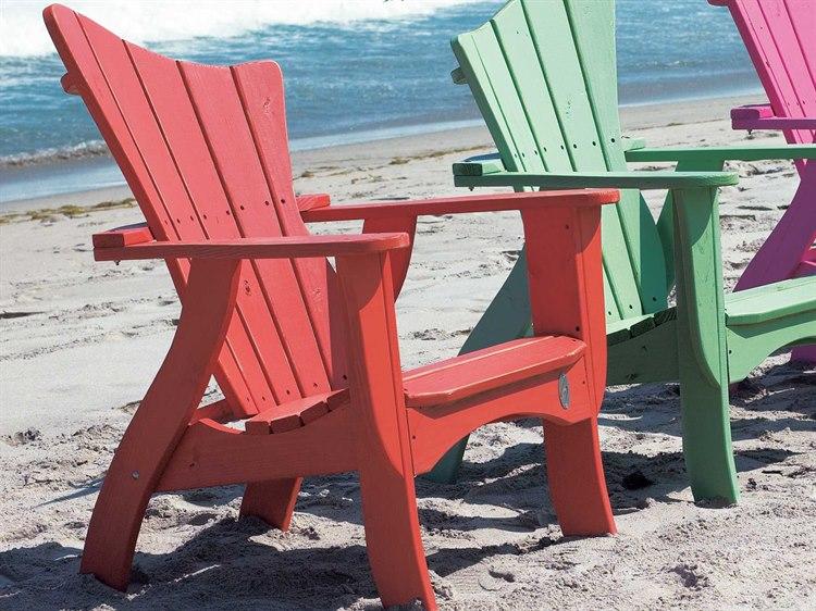 Uwharrie Chair Wave Wood Adirondack Chair