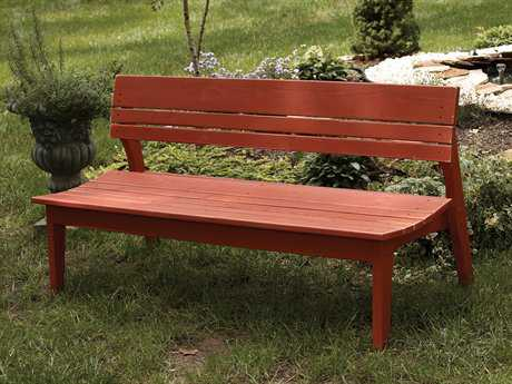 Uwharrie Chair Behren Wood Side Bench 82Wx25.5Dx33H