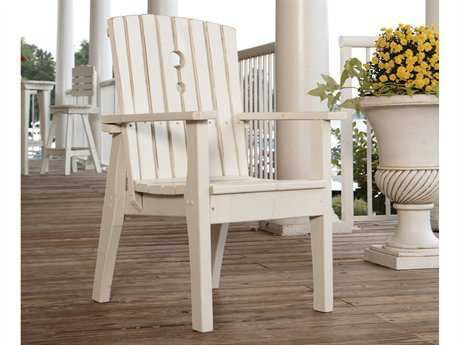 Uwharrie Chair Behren Wood Adirondack Dining Arm Chair