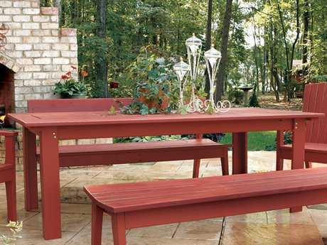 Uwharrie Chair Behren Wood 42 x 85 Rectangular Dining Table