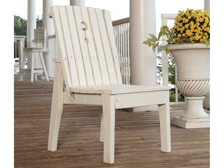 Uwharrie Chair Behren Wood Adirondack Dining Side Chair UWB096