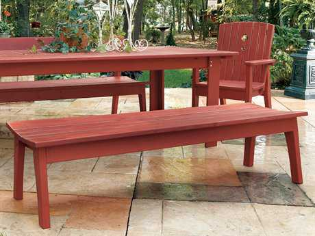 Uwharrie Chair Behren Wood Side Bench 82Wx19.5Dx17H