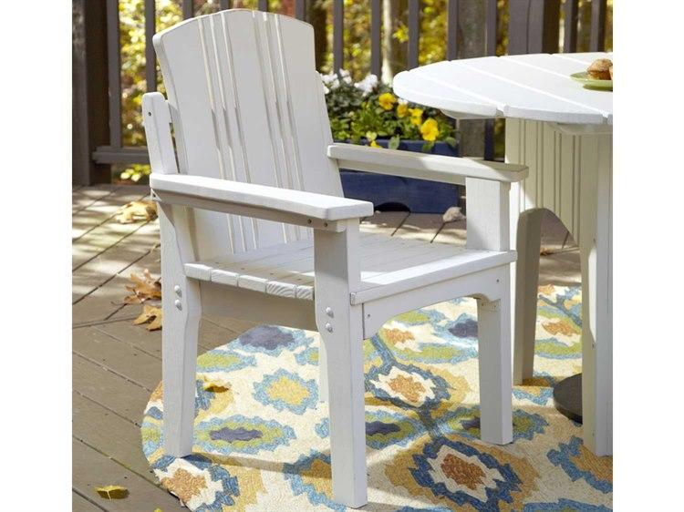 Uwharrie Chair Carolina Preserves Wood Dining Arm Chair PatioLiving