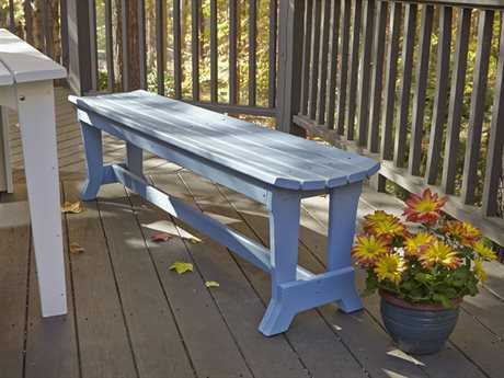 Uwharrie Chair Carolina Preserves Wood 4-Seat Bench