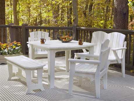 Uwharrie Chair Carolina Preserves Wood Dining Set