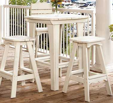 Uwharrie Chair Companion Series Wood Bar Dining Set