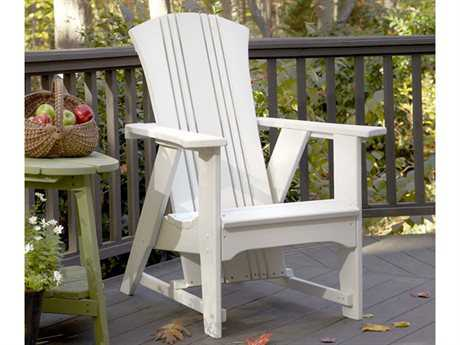 Uwharrie Chair Carolina Preserves Wood Adirondack Chair