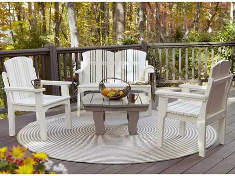 Uwharrie Chair Carolina Preserves Wood Lounge Set