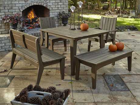 Uwharrie Chair Hourglass Wood Dining Set