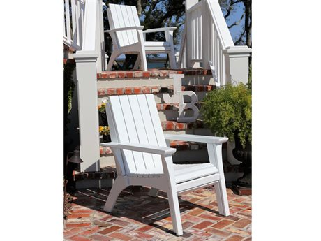 Uwharrie Chair Jarrett Bay Carolina Flare Wood Lounge Chair