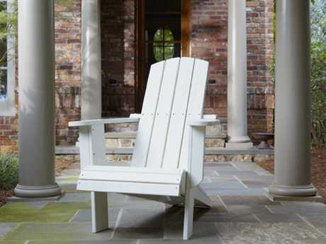 Uwharrie Chair Malibu Wood Cushion Adirondack Chair