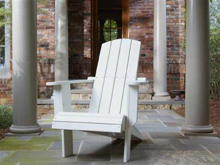 Uwharrie Chair Malibu Wood Cushion Adirondack Chair