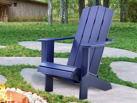 Uwharrie Chair Malibu Wood Lounge Chair