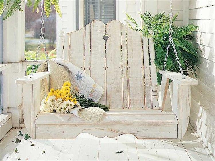 Uwharrie Chair Nantucket Wood Swing