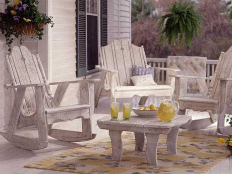 Uwharrie Chair Nantucket Wood Lounge Set