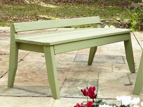 Uwharrie Chair Plaza Wood 2-Seat Bench