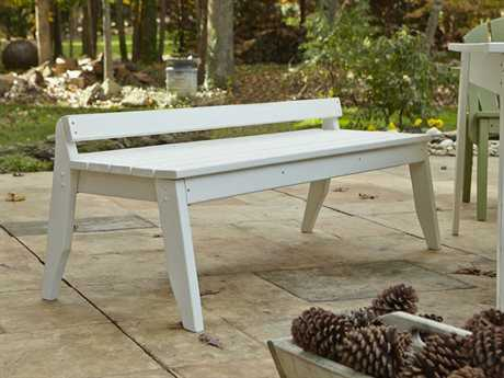 Uwharrie Chair Plaza Wood 3-Seat Bench
