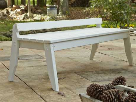 Uwharrie Chair Plaza Wood 4-Seat Bench