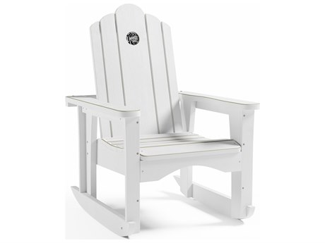 Uwharrie Chair Styxx Wood Rocker Arm Lounge Chair