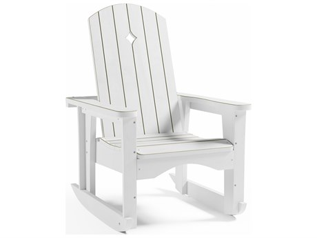 Uwharrie Chair Opal Wood Rocker Lounge Chair