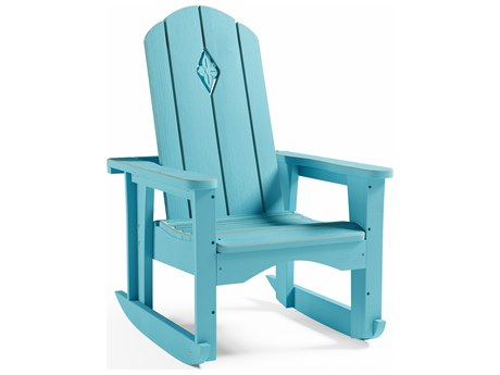Uwharrie Chair Cali Wood Rocker Lounge Chair