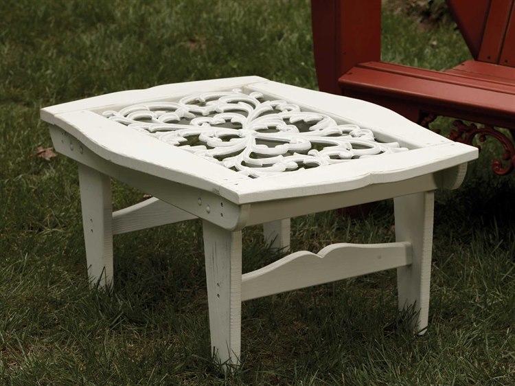 Uwharrie Chair Veranda Wood 39 x 26 Rectangular Coffee Table