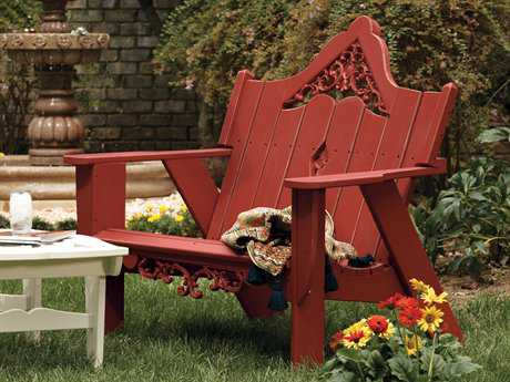 Uwharrie Chair Veranda Wood Loveseat UWV051