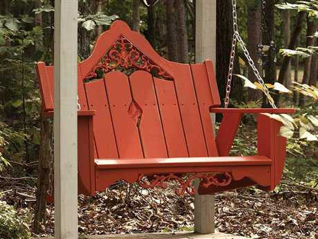 Uwharrie Chair Veranda Wood Swing