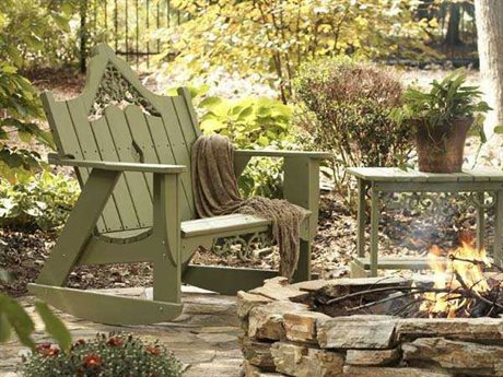 Uwharrie Chair Veranda Wood Conversation Lounge Set