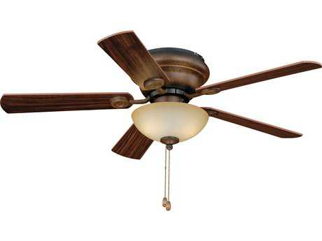 Vaxcel Expo Aged Walnut Two-Light 42'' Wide Indoor Ceiling Fan