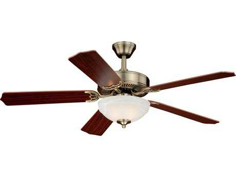 Vaxcel Essentia Antique Brass Two-Light 52'' Wide Indoor Ceiling Fan