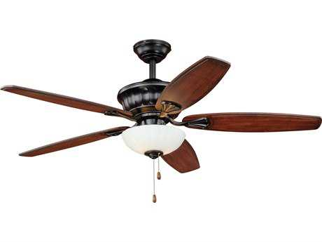 Vaxcel Vasari New Bronze Two-Light 52'' Wide Indoor Ceiling Fan