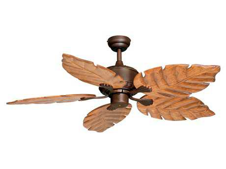 Vaxcel Palm Beach Burnished Bronze 52 Ceiling Fan