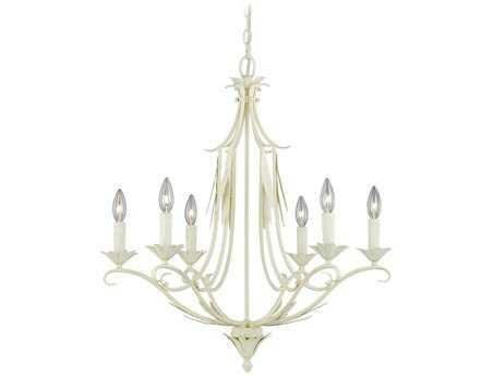 Vaxcel Austen Gilded Patina Six-Light 25'' Wide Chandelier