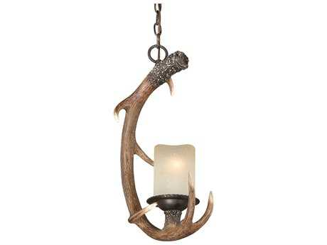 Vaxcel Yoho Black Walnut 13.25'' Wide Pendant Ceiling Light