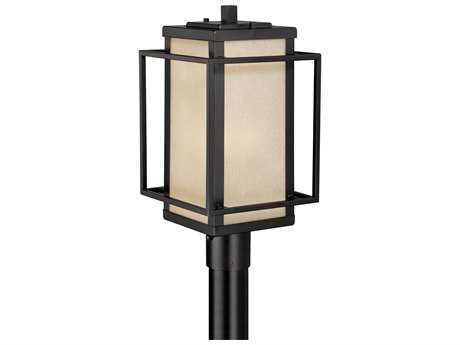 Vaxcel Hyde Park Espresso Bronze Three-Light 9.5'' Wide Outdoor Post Light
