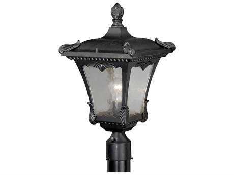 Vaxcel Castile Weathered Bronze 11'' Wide Outdoor Post Light