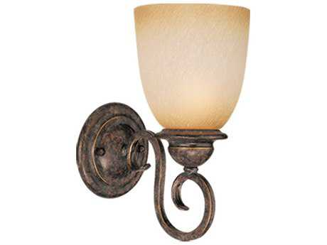 Vaxcel Mont Blanc Aztec Bronze 8.5'' Wide Vanity Light