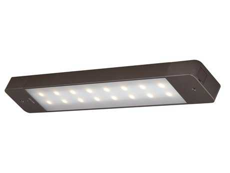 Vaxcel Instalux Bronze Frosted Diffuser 16-Light LED Motion Under Cabinet Smart Light