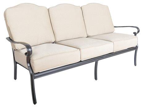 Veranda Classics Harmony Cast Aluminum Radiant Bronze Sofa PatioLiving